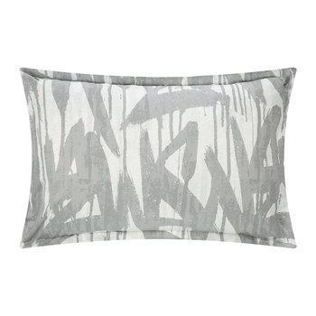 Graffiti Duvet Cover - Gray