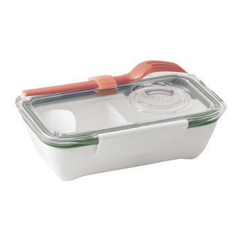 Bento Lunch Box with Fork - Olive