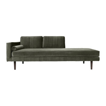 Wind Chaise Longue - Grape Leaf