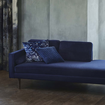 Wind Chaise Longue - Insignia Blue