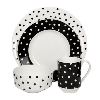 Primrose Drive Dot Bowl - Soup/Cereal Bowl