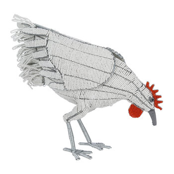 Creature Bird Huhn-Ornament