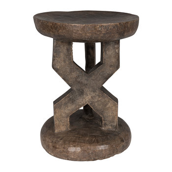 Tonga Stool - Medium - Natural