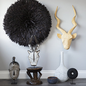 Kudu Head Wall Decoration