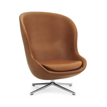 Hyg Swivel Lounge Chair - Ultra Leather