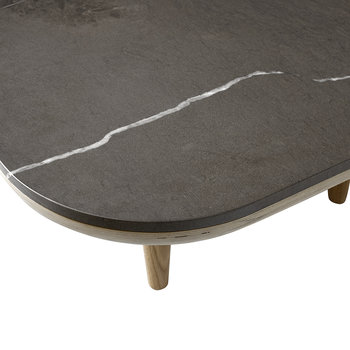 Fly Coffee Table - Smoked/Fossena Stone