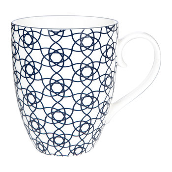 Nippon Blue Mug Set - Set of 2 - Dot/Stripe