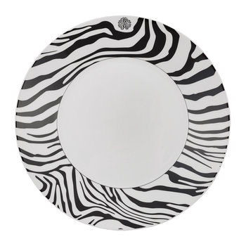 Zebra Soup Plate - Set of 6