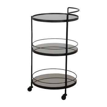 Lucy Bar Cart - Charcoal