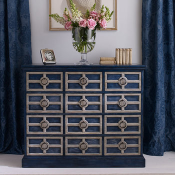 Midmoor Chest of Drawers - Blue