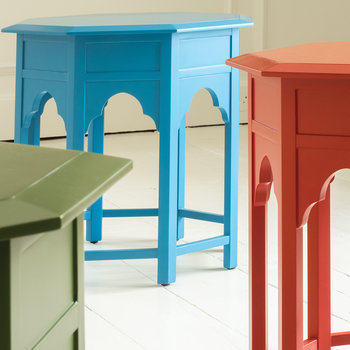 Tanjina Side Table - Rouge