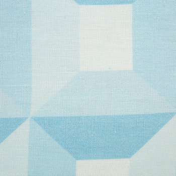 Sorrento Squares Pillow - Blue/White