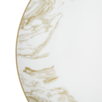 Gunnison Porcelain Dinner Plate – Set of 4 - Gold