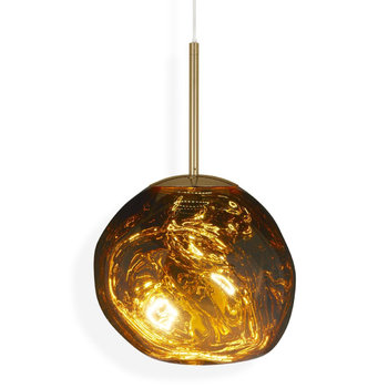 Melt Mini LED-Pendelleuchte - Gold