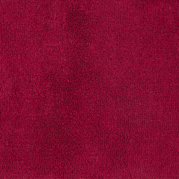 Reversible Rug Bath Mat - Raspberry