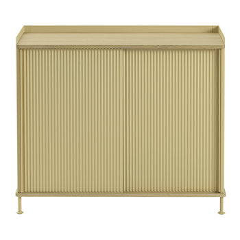 Enfold Tall Sideboard - Sand Yellow