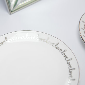 Key Court Tidbit Plate - Set of 2