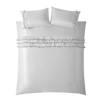 Medina Quilt Cover - Oyster