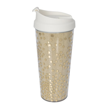 Holiday Glitter Thermal Mug