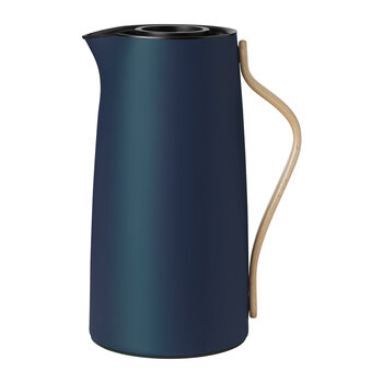 Emma Vacuum Coffee Pitcher - Dark Blue