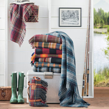 Couverture de Moto Portable - Plaid Shelter Bay