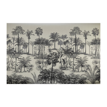 Palm Trees Vinyl Floor Mat
