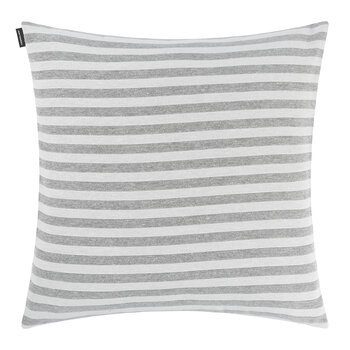 Tasaraita Cushion Cover - 50x50cm - Ecru/Grey