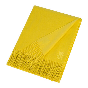 Imagine Cashmere Blanket - 130x180cm - Lemon