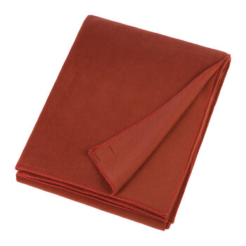 Soft Fleece Blanket - Rust