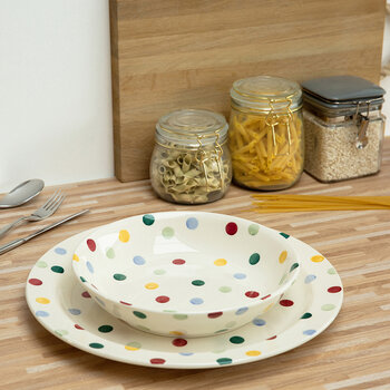 Polka Dot Bowl - Small Pasta Bowl