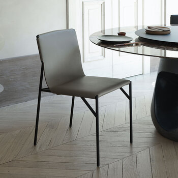 Tout Le Jour Dining Chair - Taupe