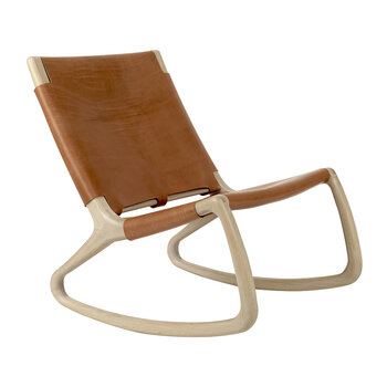 Rocker Chair - Natural/Whiskey