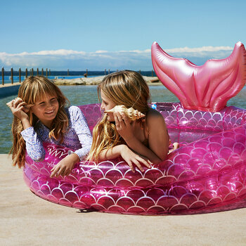 Inflatable Mermaid Garden Pool