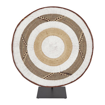 Tonga Basket Ornament - Extra Large - White