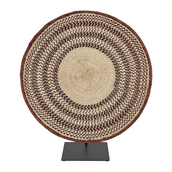 Tonga Basket Ornament - Large - Natural