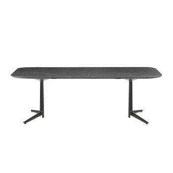 Multiplo Rectangular Outdoor Table - Black Marble