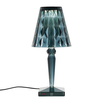 Big Battery Table Lamp - Light Blue