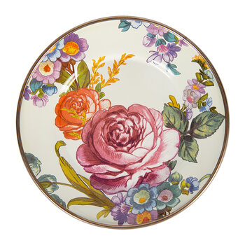 Flower Market Canape Plate - Set of 4