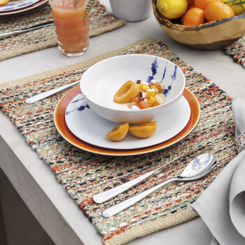 Multicolour Fabric Placemat - Set of 2