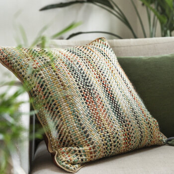 Multicolour Woven Cushion