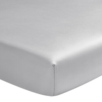 Teo Fitted Sheet - Silver