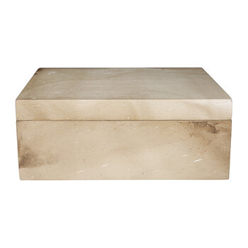 Light Marble Wooden Trinket Box