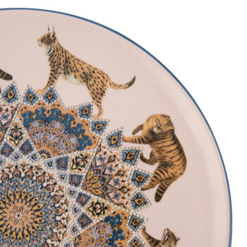 Constantinople Porcelain Plate - Cats