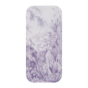 Floral Tray - Purple