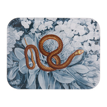 Snake Tray - Blue/Orange