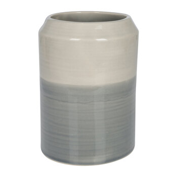 Grey Ombre Utensil Pot