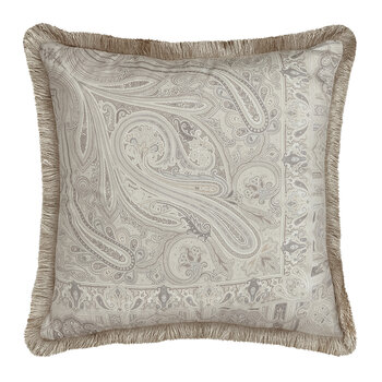 Avignone Montfavet Pillow with Piping - 60x60cm - Beige