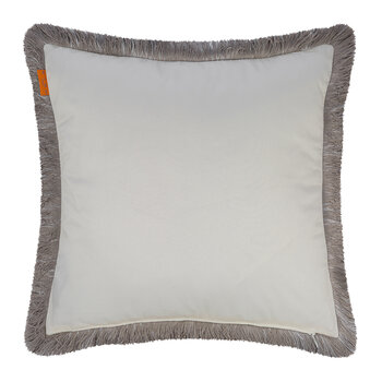 Avignone Poisson Cushion with Piping - 45x45cm - Beige