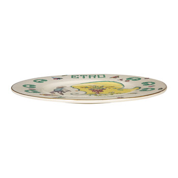 Assiette Collection Giardini Italani - Ivoire