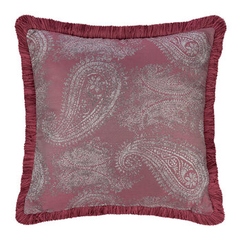 Salamanca Avila Embroidered Pillow - 45x45cm - Pink